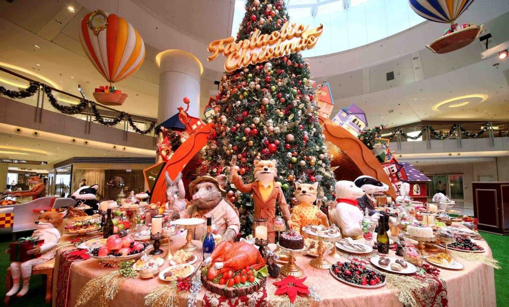 elements圆方「feeling fantastic this christmas」